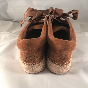 UGG Shoes - UGG the Brianna Laceup Espadrilles Sz 7